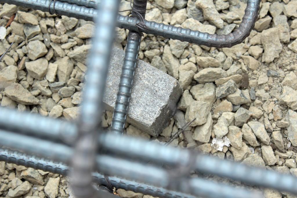 鉄筋のスペーサー