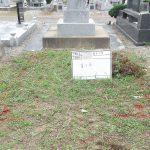 お施主様の墓地状況です。