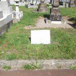 更地の墓地の状況