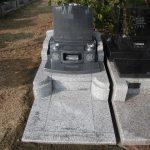 石塔はG654、外柵はG688中目をつかった洋型のお墓