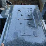 地震対策に免震シートと耐震ボンドを使用しています。