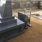墓誌や塔婆立ての設置状況