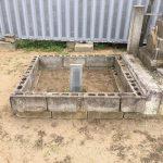 墓地の状況