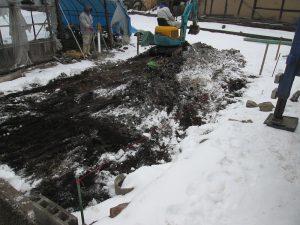 根掘り工です。