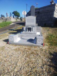 AG98のお墓が完成しました